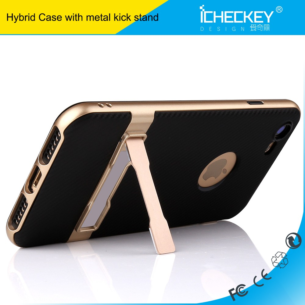 iCheckey TPU PC Combo Kickstand Holster cover case for samsung galaxy a9