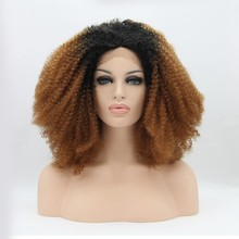 two tone color wig short full lace wigs for black women play wigs for kids