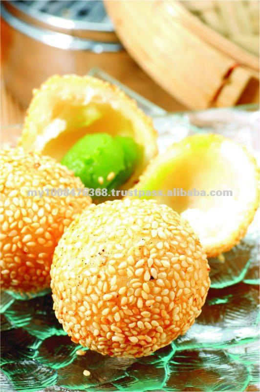 Dim Sum products - sesame ball, traditional chinese food, pau, snack, prawn siew mai