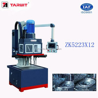 The best high efficient TARWIT ZK5223x12 CNC Vertical multi spindle drilling machine for multi-holes components