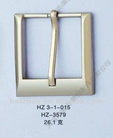 Fashion square alloy pin buckle for belt
