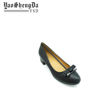 China Supplier Round Toe Wedding Ladies Low Heel Dress Shoes