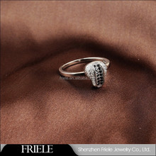 Friele Design souvenir Series bike seat value 925 silver ring