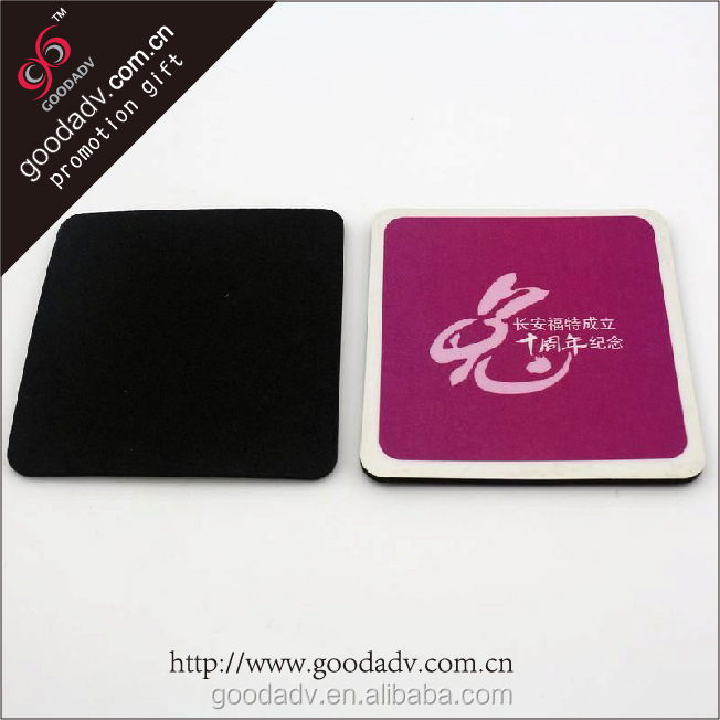 Factory directly Print Logo New Design custom placemats and coasters