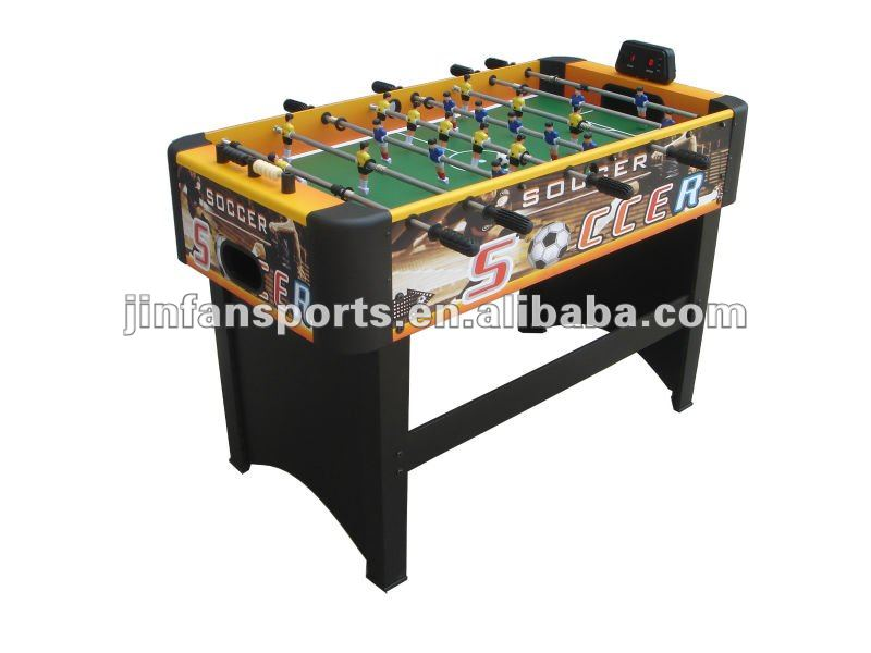 Foosball table with Electronic scorer