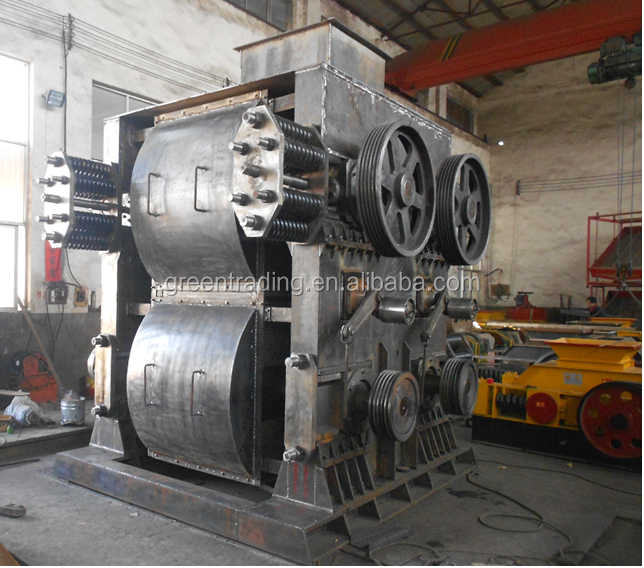 crushing equipment iron ore four roller crusher for mine from zhengzhou city