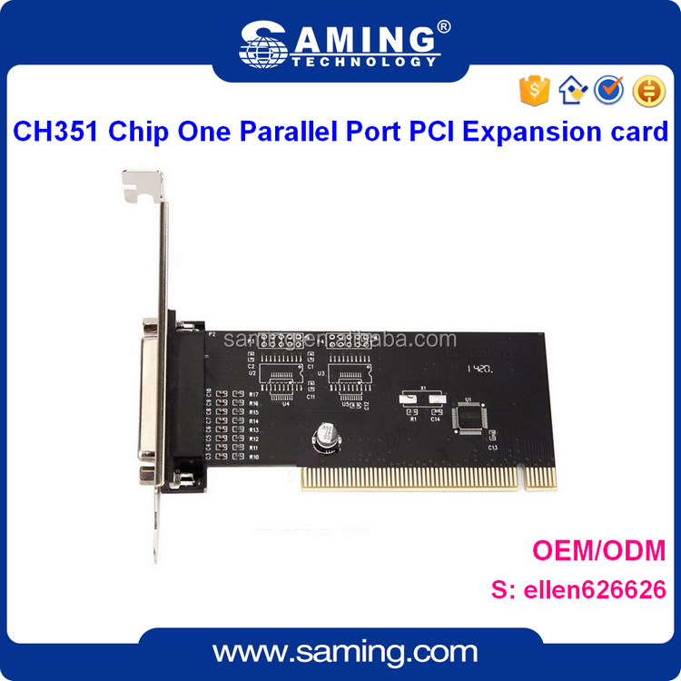 CH351 Chip Parallel Port PCI Riser Card/expansion card