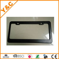 hot selling best quality Stainless steel license plate frame, car license plate frame