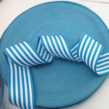 China professional printing striped material China supplier 3 inch grosgrain ribbon
