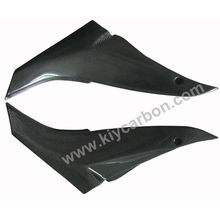 Carbon fiber motorcycle tank side panel covers for Kawasaki ZX10R