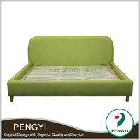 2016 Hot Sell Modern New Design Single and Double Fabric Bed Storage Bed Pk02