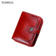 2018 womens genuine leather wallet card holder purse retro wallet lady