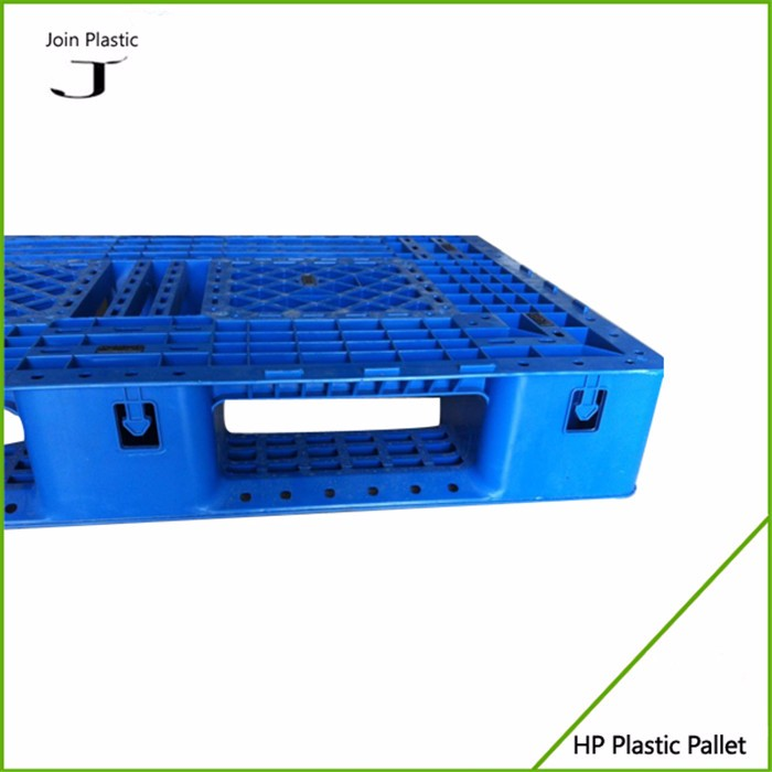 Double sided plastic euro pallet price