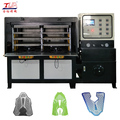 computer control molding machine equipment high quality hot press making shoe cover gloves
