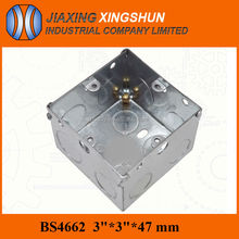 Hot Selling Outdoor Metal 3*3inches Galvanized Electrical Explosion Proof Junction Box IP65