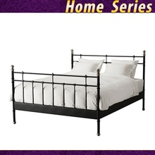 Asia Queen Metal Bedroom platform bed frames black