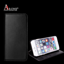 Wallet stand magnet Leather flip case for iphone 6s leather case