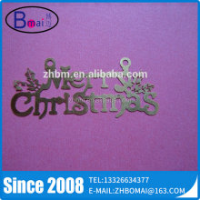 Wholesale Custom Shape Photo Chemical Etching Metal Craft For Christmas