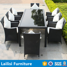 Outdoor Rattan Bistro Dining Table Set Malaysia Furniture Import