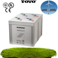 2v 2000Ah Lead Acid AGM Deep Cycle Battery for Solar System and UPS