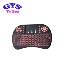 Backlit Mini Wireless Keyboard With Touchpad Mouse Combo and Multimedia Keys for Android TV Box HTPC PS3 XBOX360 Smart Phone