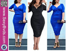 Hot Sale No MOQ Ladies Mature Daily Dress Women Wear