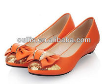ladies stylish low heels dress shoes WZX112-61