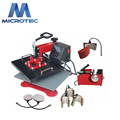 Multi-functional 8 in 1 Combo Sublimation Heat Press Machine