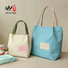 New design canvas blank tote bag made in China