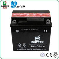 High Quality Maintenance Free 12V 9Ah Motorcycle Battery