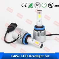 2016 IP68 CE&RoHS h11 auto bulbs car led headlight