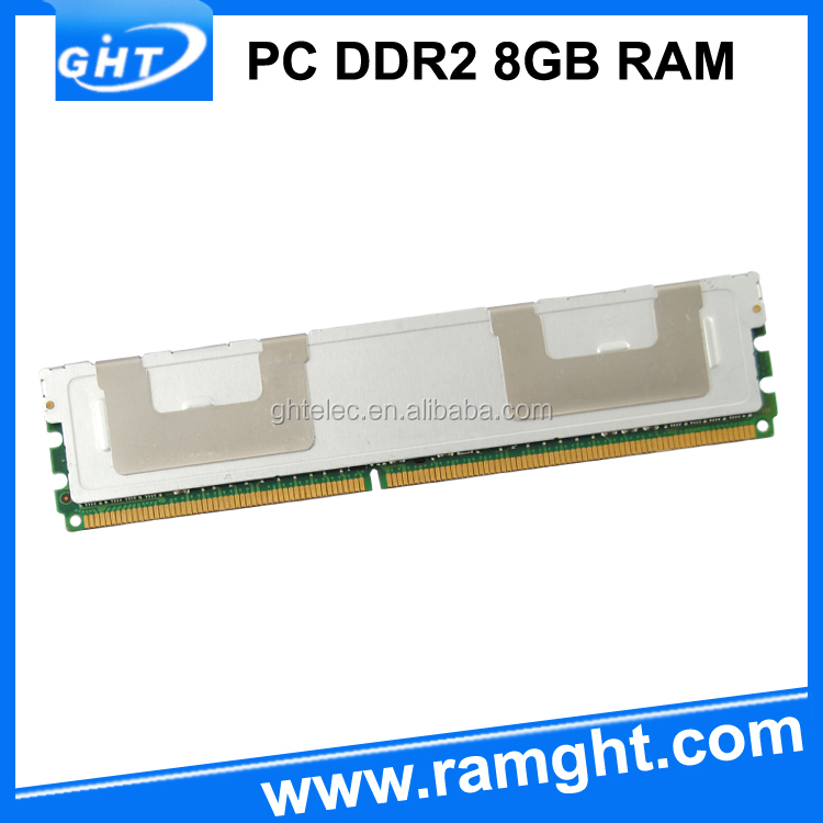 Accept paypal GHT 667mhz REG ECC 8GB ddr2 ram for Server