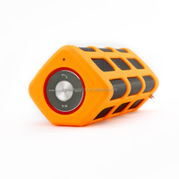 Portable bluetooth speaker waterproof wireless speaker with handsfree Mic and 5200 mAh power bank RS7720
