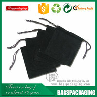 Homey small drawstring jewelry velvet bags wholesale