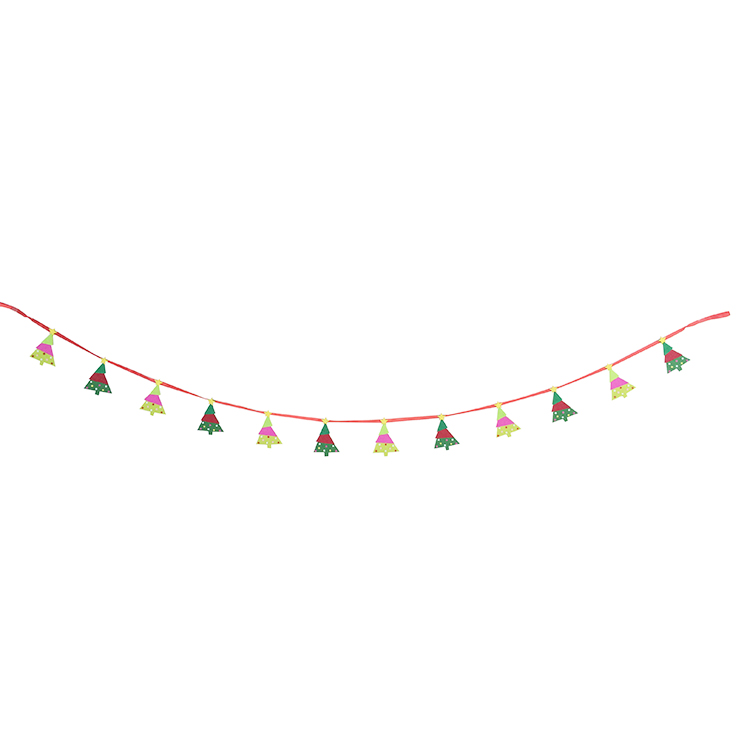 (XM7-40)christmas garland green pine wall decoration