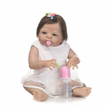 wholesale alibaba girl toy full body silicone reborn baby dolls for sale