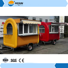 Electric Mobile Motorcycle Food Cart