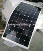 50W ,100W,200W flexible solar panel Flexible solar panels sun power mono solar panel,25 years quality warranty