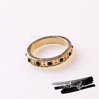 China Supplier Good Quality Wholesale Plating Pure Gold Wedding Ring