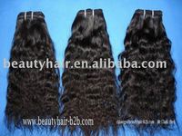 100%Human hair weft mongolian kinky curly hair weaves Brazilian kinky curly clip in hair extensions double drawn weft