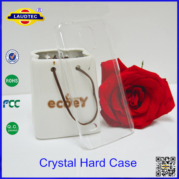 Cell phone Case For Samsung Galaxy s5 Mini Crystal Clear Hard Case Cover--Laudtec