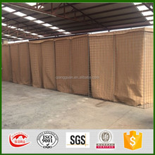 military sand wall hesco barrier/galfan hesco bastion/ mil2 hesco bastion wall