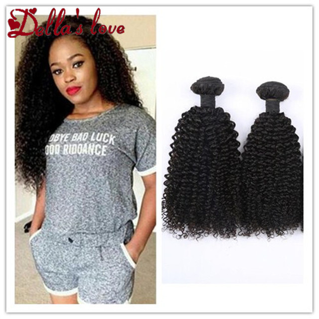 Mongolian virgin hair kinky curly/afro curl weft soft and lasting accept small order kinky curl