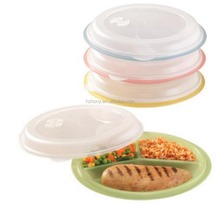 Divided Storage Plates, Set of 4
