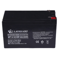 12v 7ah lead acid vrla agm solar system battery made in China