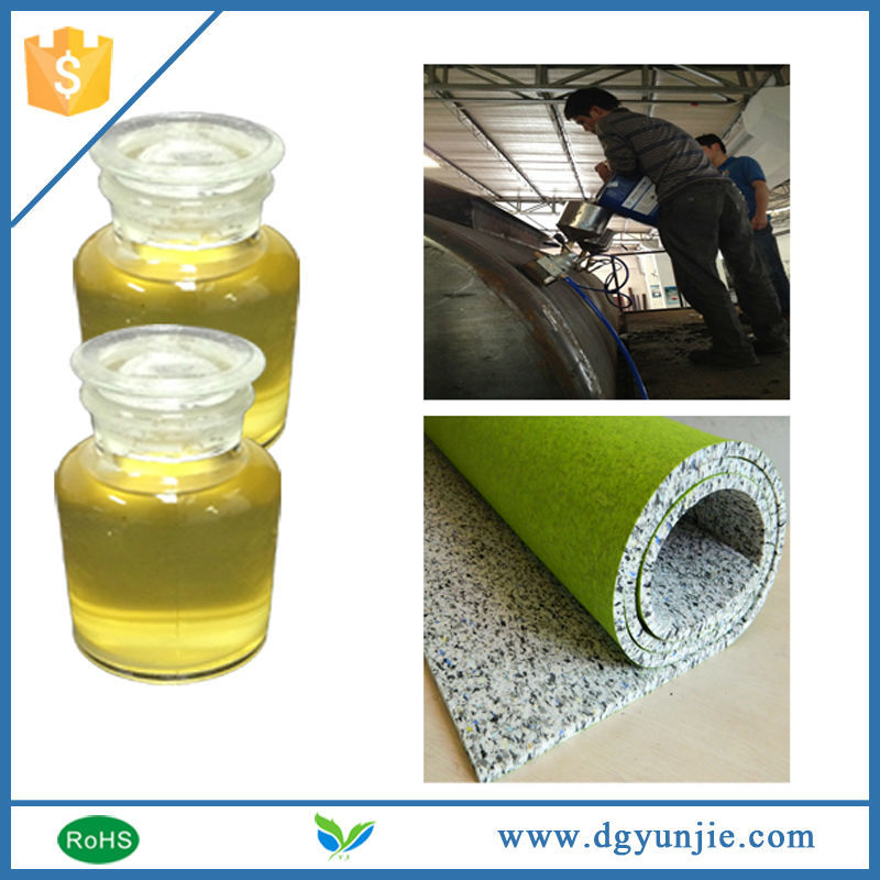 China products polyurethane chemical binder for rebond foam