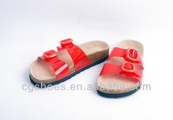 2014 New Clear Jelly cork,sandal,ugly shoes