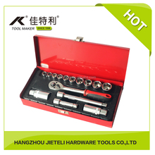 10mm Dr. Socket Wrench Set in Metal Box