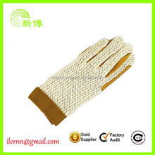 wholesale custom made horse riding glove