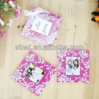 Photo Frame Glass Coaster Wedding Door Gift
